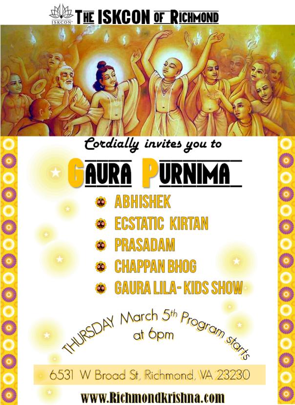 Gaura Purnima-2015